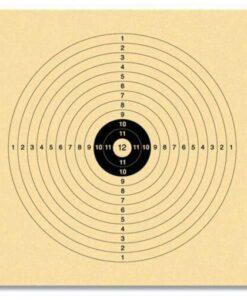 luchtbuks schietkaarten