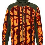 camouflage fleece vest