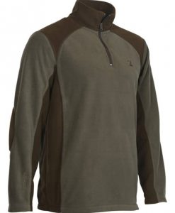 Percussion fleece polo