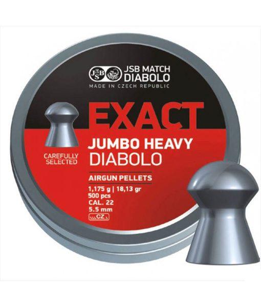 JSB jumbo exact heavy 5,5mm