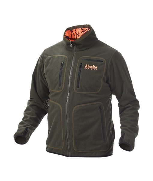 Alaska elk reversible vest