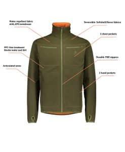 Alaska Elk Kodiak Reversible Jacket
