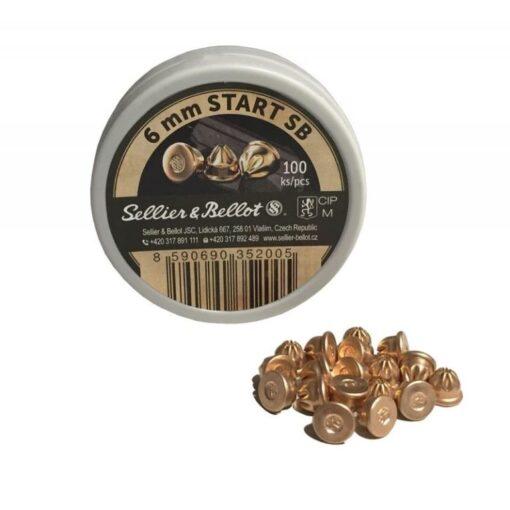 6mm knalpatroon sellier & bellot