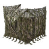 camouflage hut